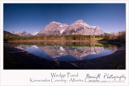 wedge pond poster
