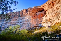 Montezuma's Castle; near Camp Verde, Arizona