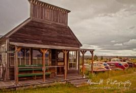 Mercantile store in Shaniko, Oregon
