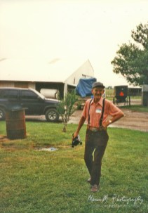 At the family reunion in Oklahoma (May '92). This is the last time I saw my dear Uncle Ed