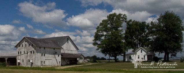 farm barn white nappanee indiana