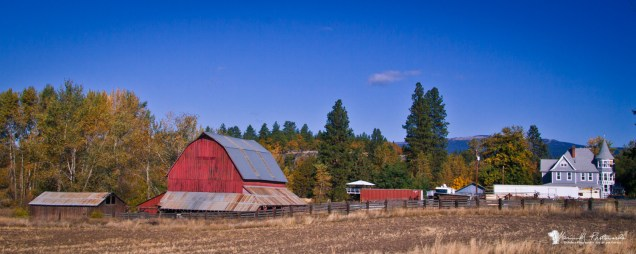 Goldendale, Washington; south nearly to Biggs Junction...
