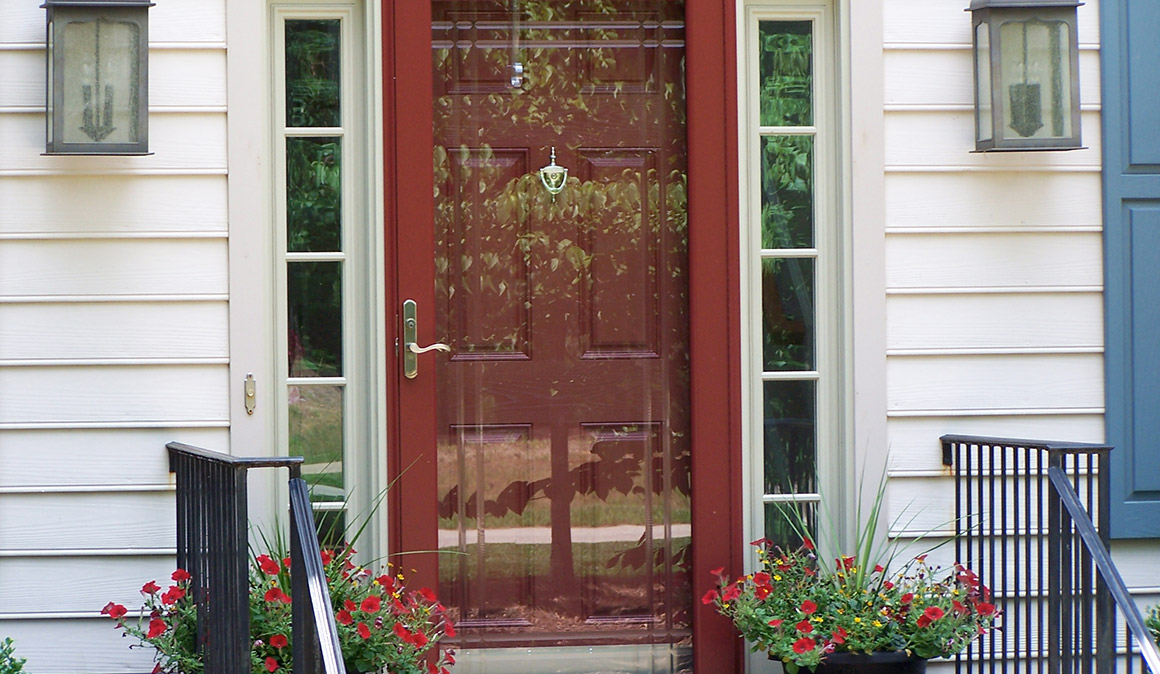 Crossbuck Storm Door  VINTAGE SCREEN DOORS 3650T Sc 1