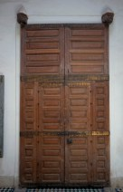 I like the set of smaller doors inside the massive ones (Palais Bahia).