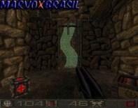 Ao invés de botões para apertar no fim de cada level, temos portais dimensionais.