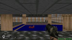 Em Rage, na área Gearhead Vault é possível curtir um pouco da primeira fase de Doom com direito a coletar um action-figure do Doomguy. Rage é cheio de Easter Eggs nostálgicos.