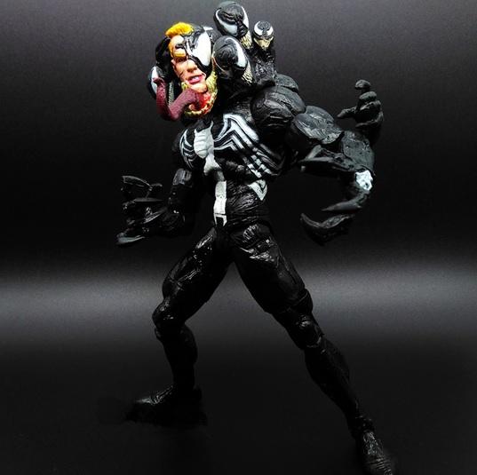 Venom Action Figure 8 Inches Spider Man Series Marvtoys