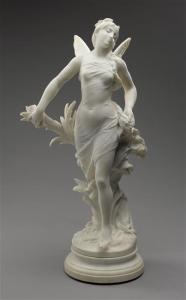 Femme ailée au milieu des roseaux Description : 1850-1900 Auteur : Gaudez Adrien (1845-1902) sculpteur Crédit photographique : (C) RMN-Grand Palais (musée d'Orsay) / Stéphane Maréchalle