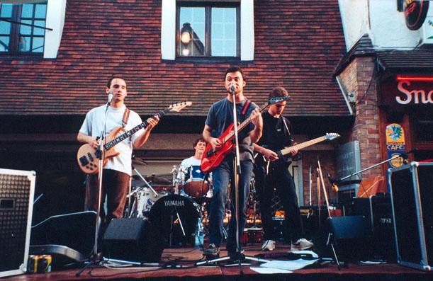 ID'FX Fête de la musique au Touquet en 2000