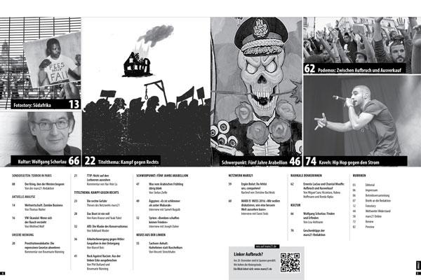 marx21 Magazin Nummer 42 Inhaltsverzeichnis