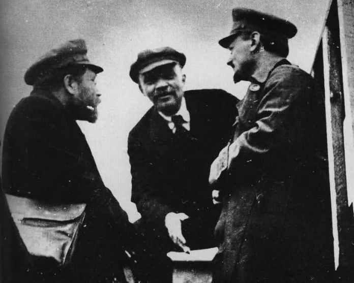 Λένιν και Τρότσκι