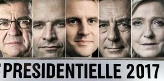 Γαλλικές προεδρικές εκλογές 2017 - Μελανσόν - Λεπέν - Μακρόν