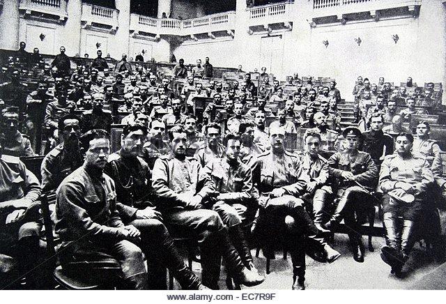 Χρονολόγιο Ρωσικής Επανάστασης 1917 - Μάρτιος