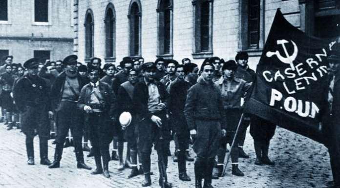 Τρότσκι Ισπανική Επανάσταση, POUM, ισπανικός εμφύλιος