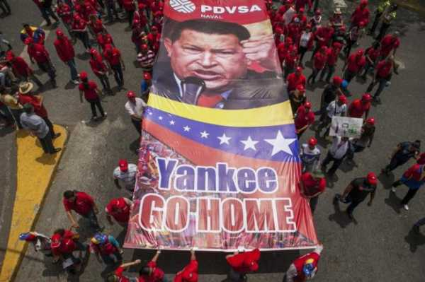 Βενεζουέλα: Η μαζική αντι-ιμπεριαλιστική διαδήλωση και το εξελισσόμενο πραξικόπημα Τραμπ