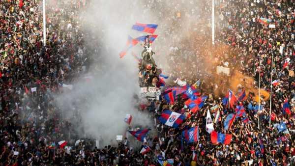Χιλή, διαδηλώσεις Οκτώβρης 2019