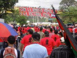 1 Mayo en Honduras.