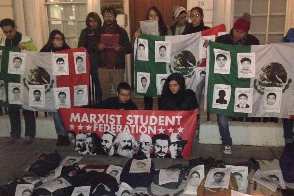 Marxist student solidarity with Mexico