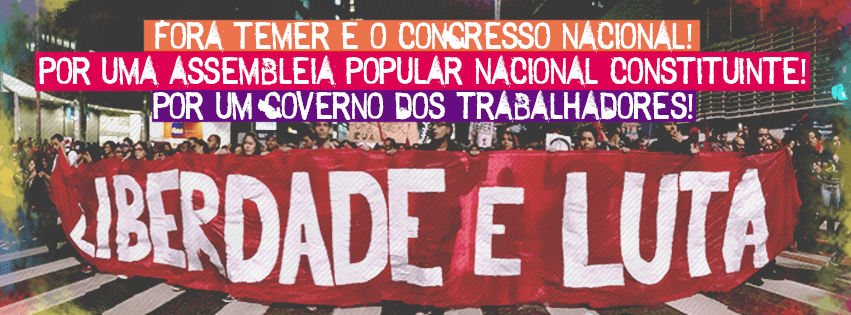 Solidarity with the Brazilian workers and youth fighting the Temer government