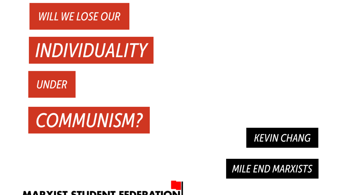 [Video] Myths of marxism: will we lose our individuality under communism?