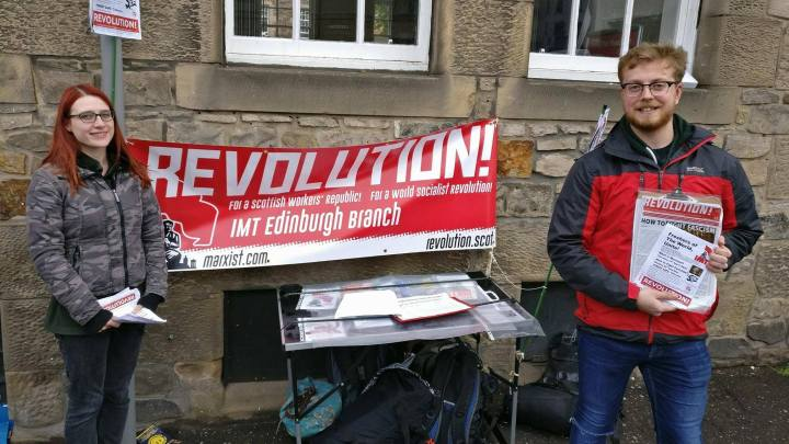 Scottish Marxists sign up new students
