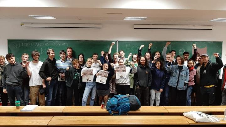 Marxist Society & Labour Students fight for a socialist labour government in Sheffield