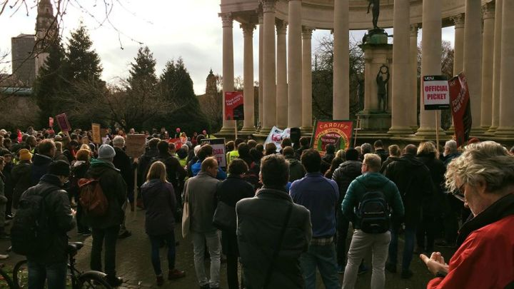 Reflections on the UCU strike in Cardiff