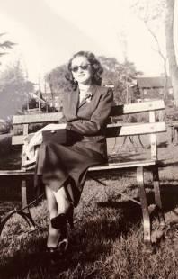 Sophie Klisman in Detroit during the 1950s