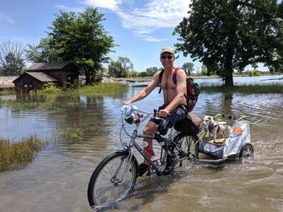 In his free time, Casteel enjoys kayaking and biking, logging over 170 miles on lakes from Toledo to Port Sanilac and covering 1,000 miles annually on two wheels.