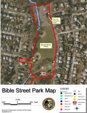 Greenwich Ct Bible Street Map