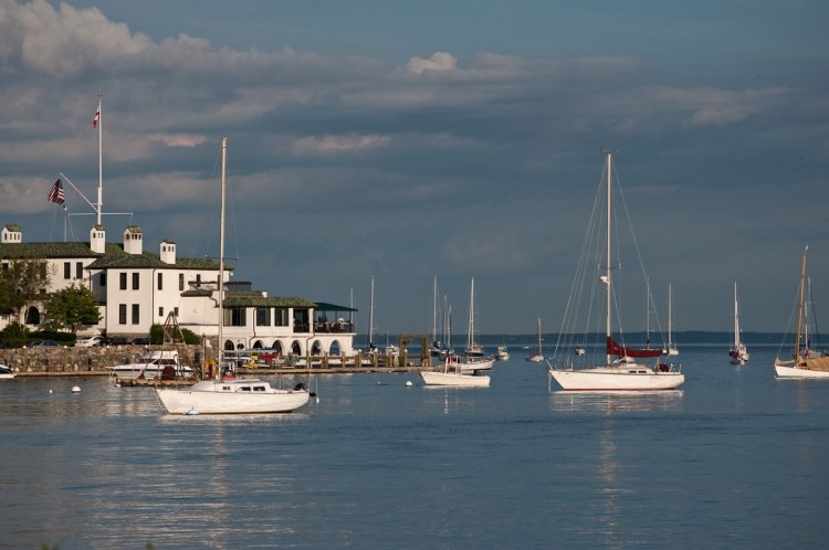 Indian Harbor Yacht Club in Greenwich, CT