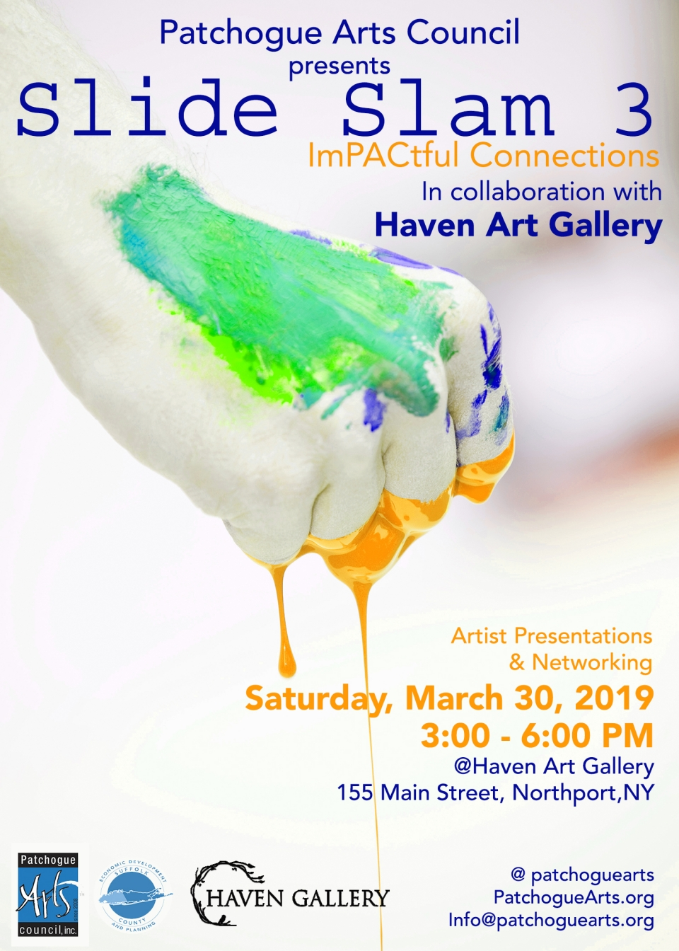 Slide Slam at the Haven Gallery in Northport NY-March-30-2019 featuring Mary Ahern