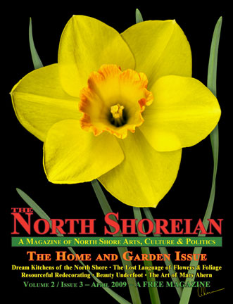 2009- North Shorian magazine featuring the Artist, Mary Ahern