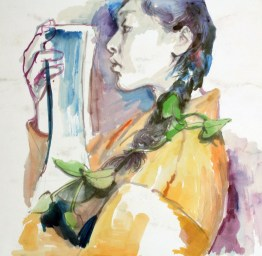 Monica Wang; Watercolor on paper; 2016