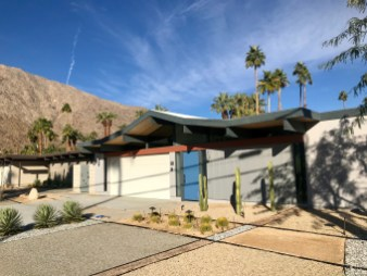 One of several Eichler tract homes in PS