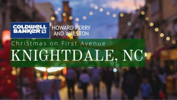 Knightdale Christmas on First Avenue