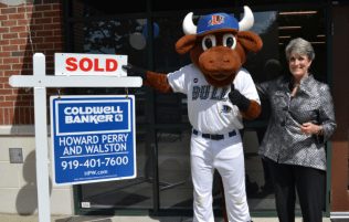 Coldwell Banker HPW Durham Trish Taylor and Wool E. Bull