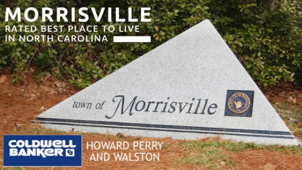 Morrisville Best Place in NC to Live