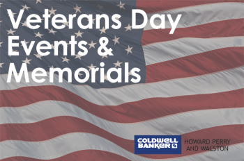 Veterans Day Events and Memorials