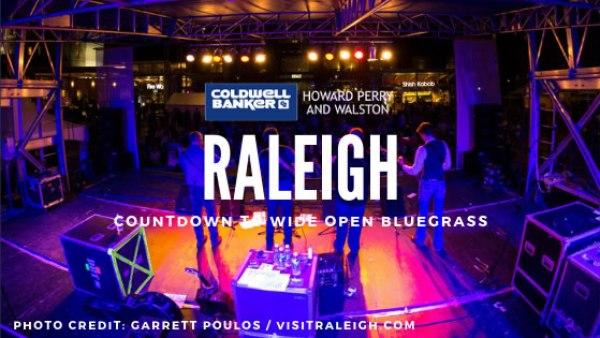 Raleigh Wide Open Bluegrass Festival