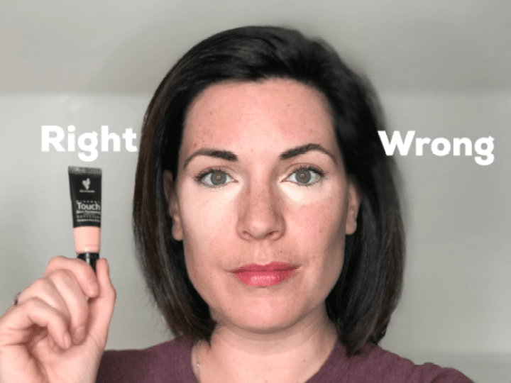 Concealer Tip #MinuteWithMary