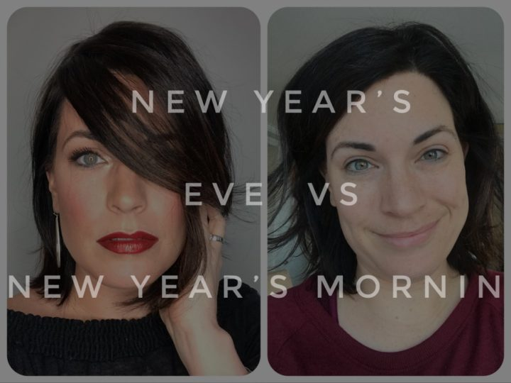New years eve vs new years morning #MinuteWithMary