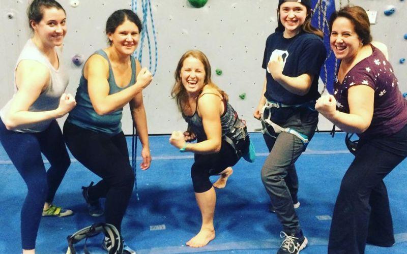 Beginner Women's Climb Night