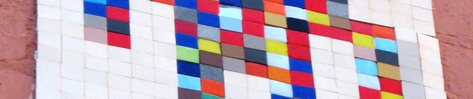 Invadr, street art, street artist, mosaics, Is It Art?, Maryann Adair,