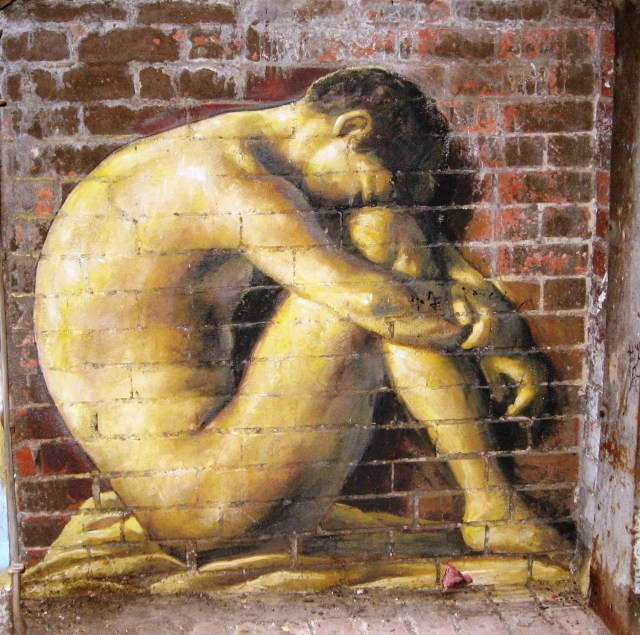 Hippolyte Flandrin street art