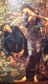 Edward Burne-Jones   The Beguiling of Merlin