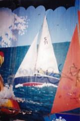 Bluebird design yacht Pisces & laser