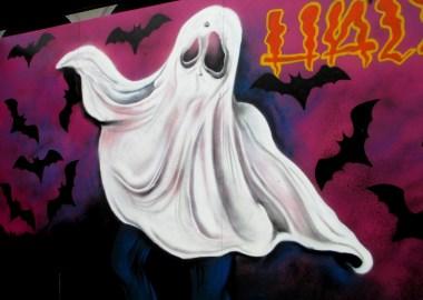 Halloween street art   Graffick Paint Com.au