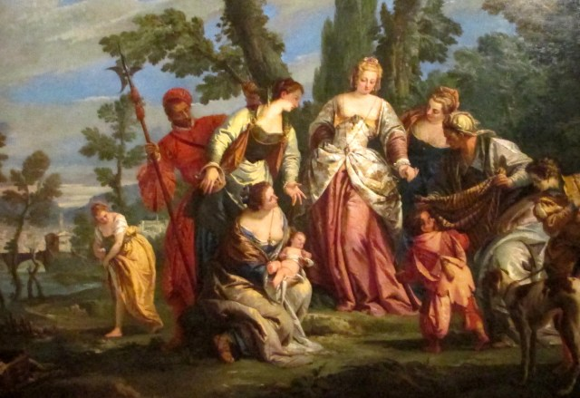 tiepolo - finding of moses1