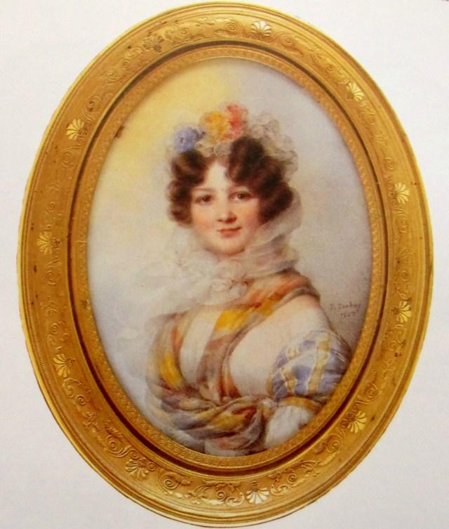 Jean-Bapiste Isabey - Madame Feydeau
